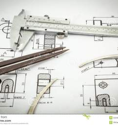 sketch diagram of vernier caliper [ 1300 x 957 Pixel ]
