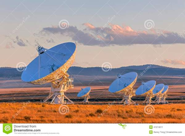 Large Satellite Array New Mexico