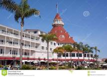 Victorian Hotel Del Coronado Editorial