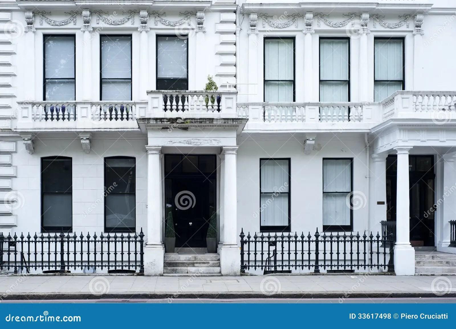 Victorian House Facade In London Stock Photo  Image 33617498