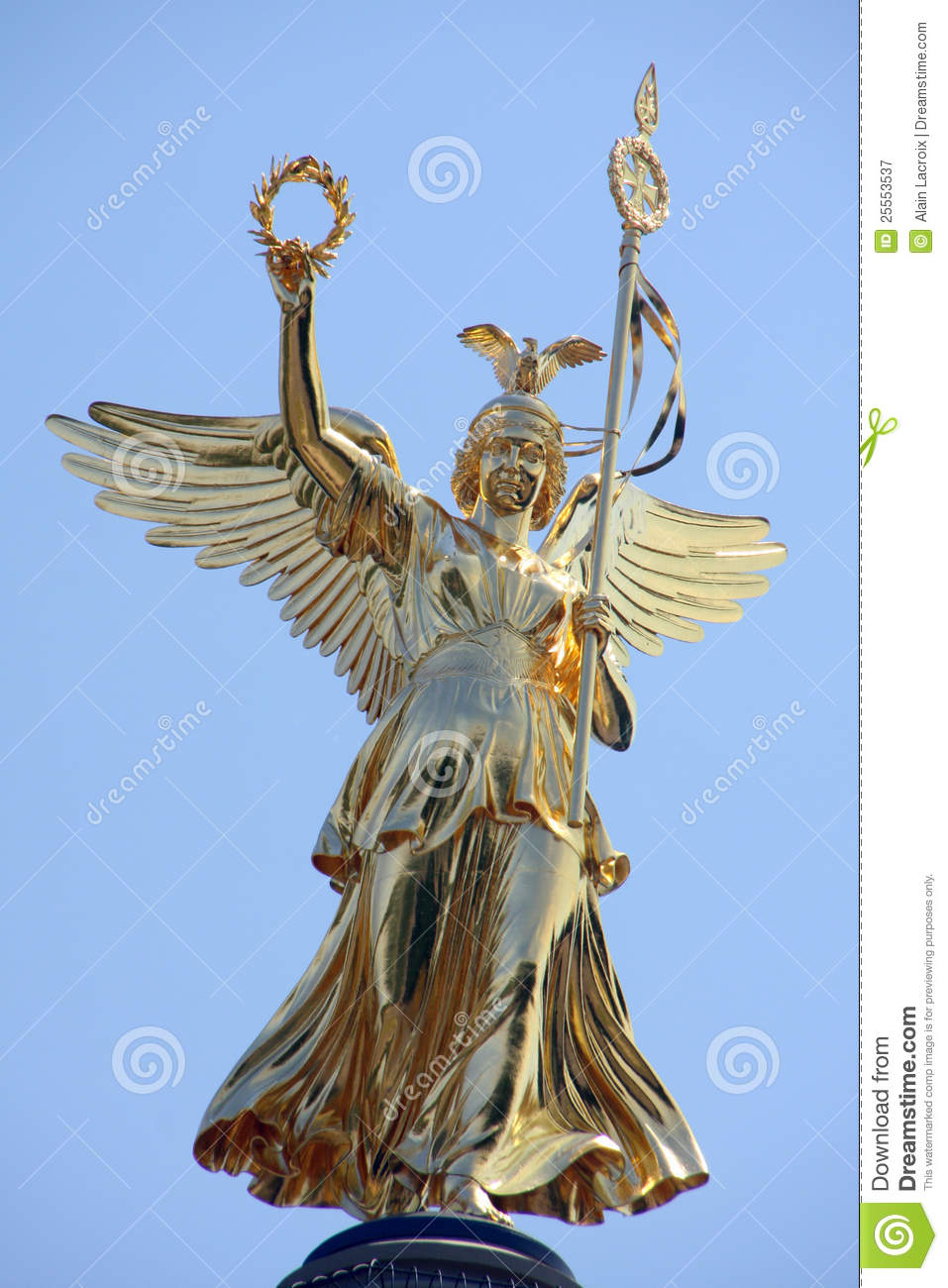 Victory Statue Royalty Free Stock Photography Image 25553537