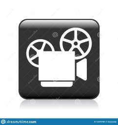 vector illustration on isolated white background video camera recorder icon [ 1600 x 1690 Pixel ]