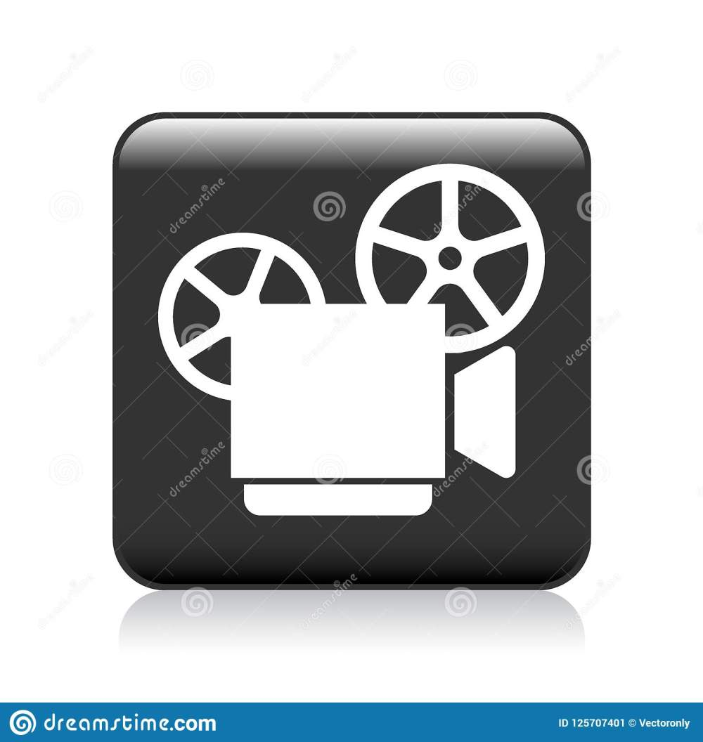 medium resolution of vector illustration on isolated white background video camera recorder icon