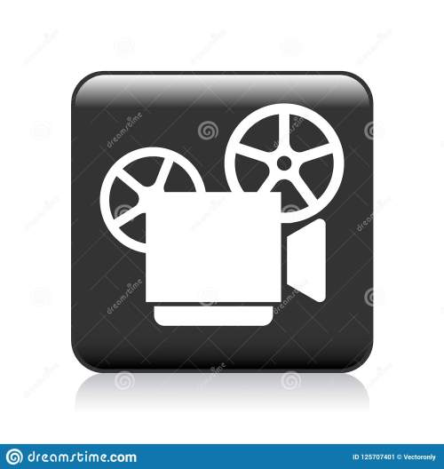 small resolution of vector illustration on isolated white background video camera recorder icon