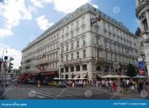 Vienna Austria July 2013. Hotel Sacher In