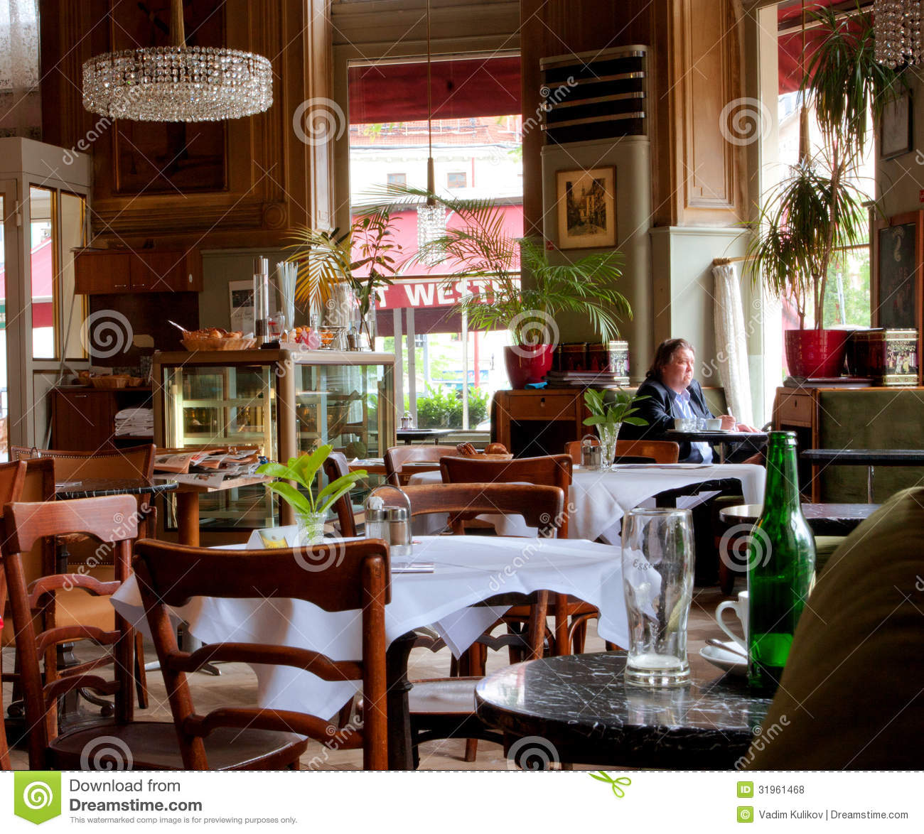 Viennese Style Interior Design And People Inside Editorial Stock Photo  Image 31961468