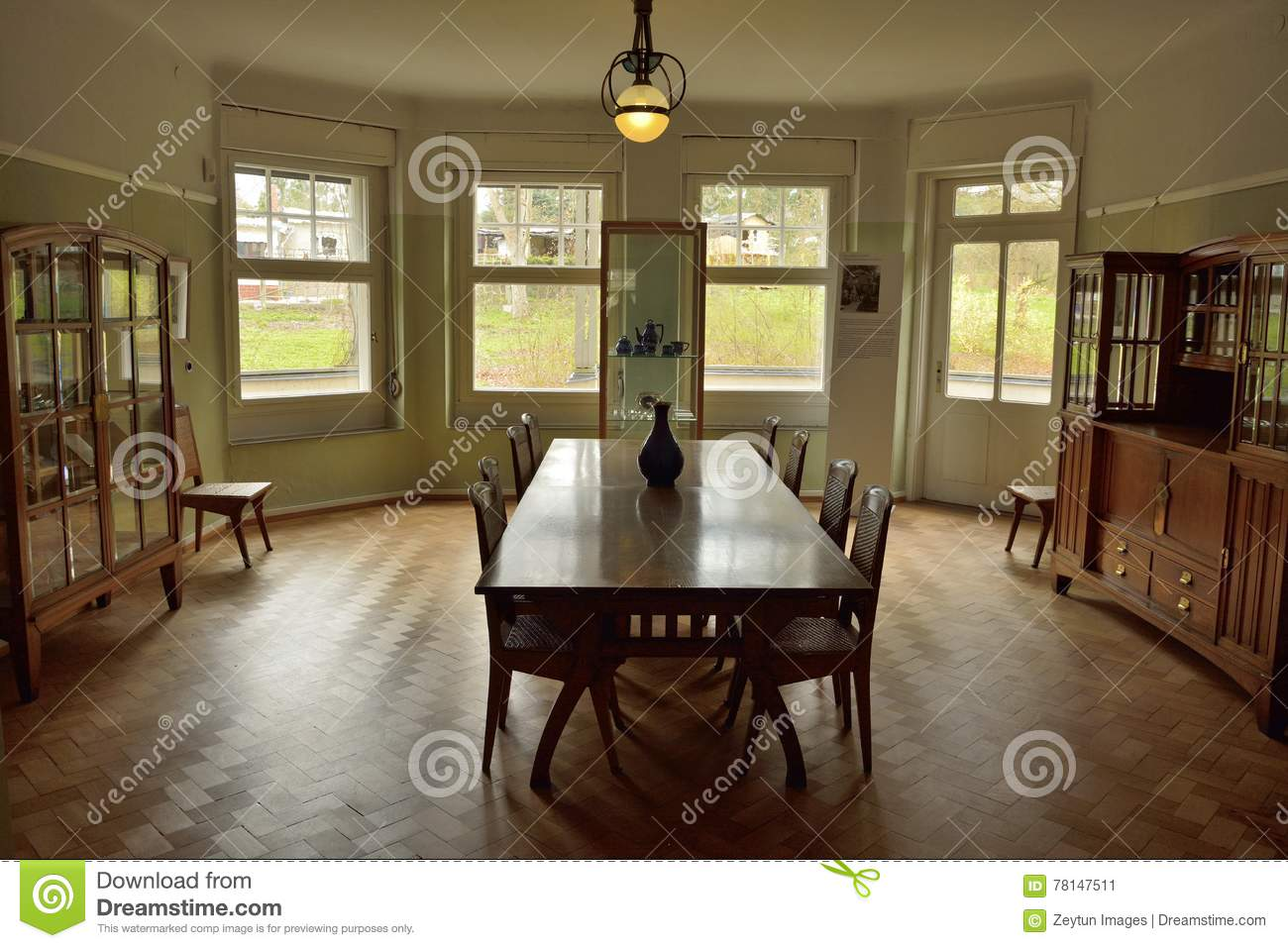 Haus Designer View Of Dining Room At Haus Hohe Pappeln Historic Building In Weimar Editorial Photo - Image Of Historic, Building: 78147511