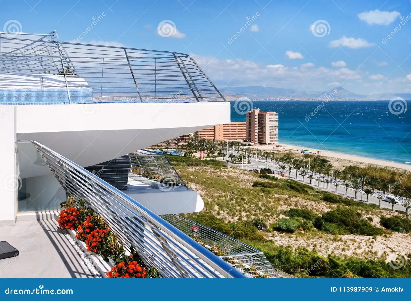 Alicante Coastline Costa Blanca Spain Stock Image Image
