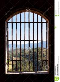 View From Prison Window Stock Photo - Image: 36637620