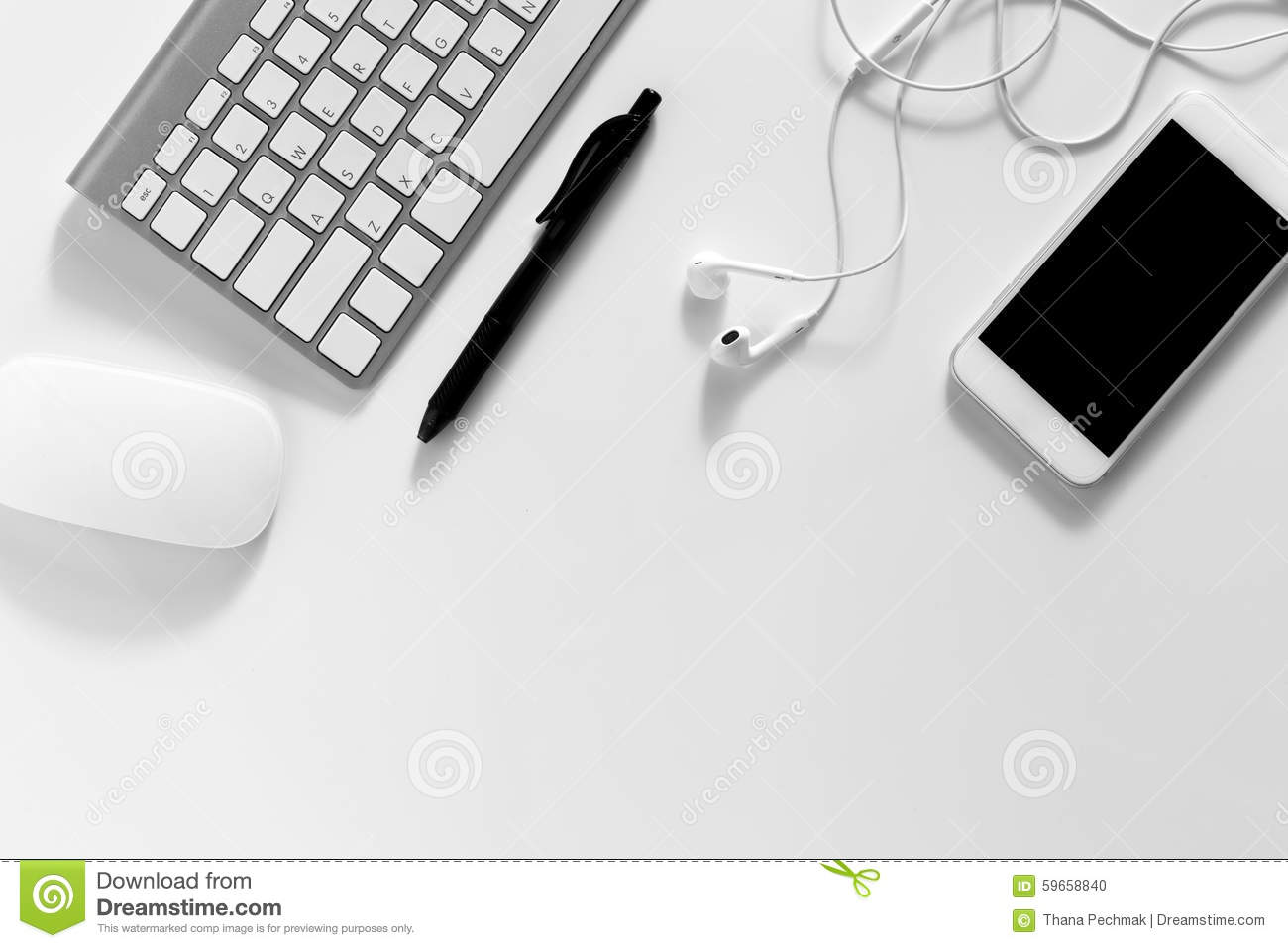 The View From The Top Business Desk Stock Photo  Image