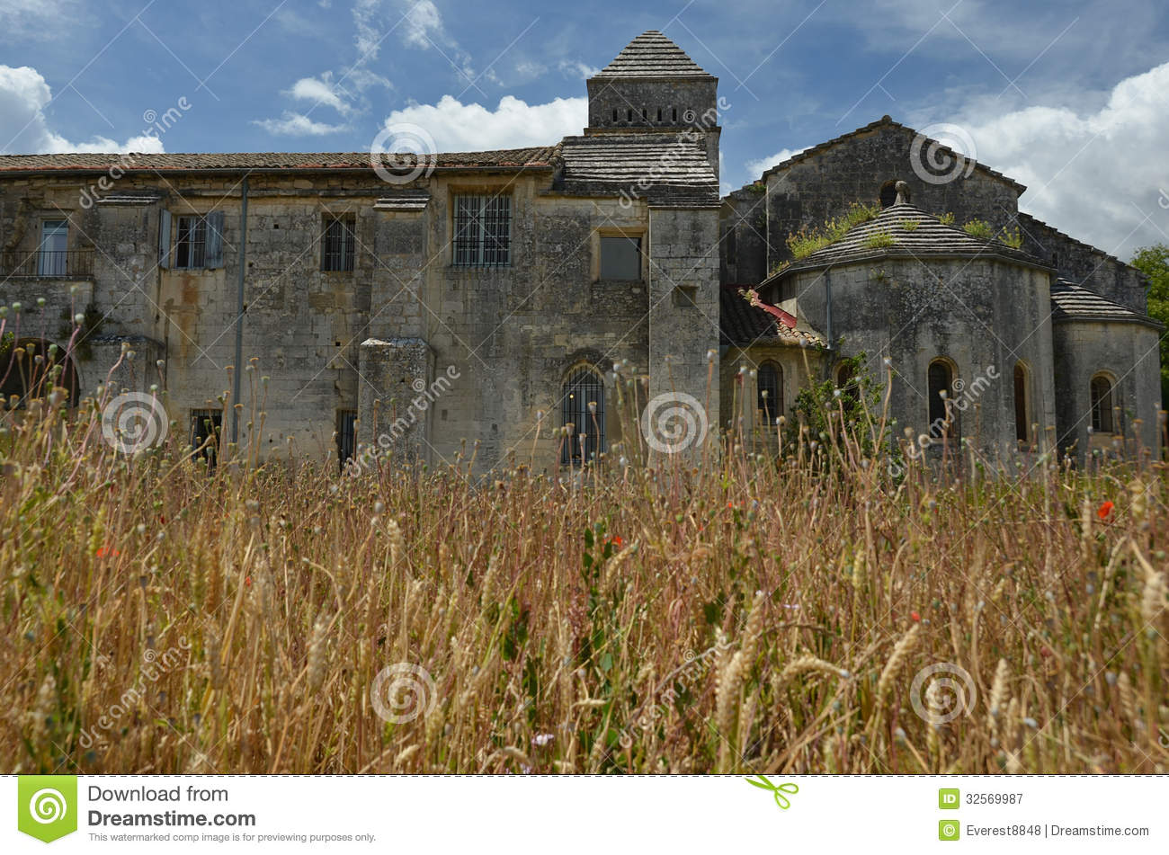 Vincent Van Goghs Asylum In Saint Remy France Royalty