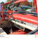 Vintage American Sports Car Interior Editorial Image Image Of Automotive Exposed 93282710