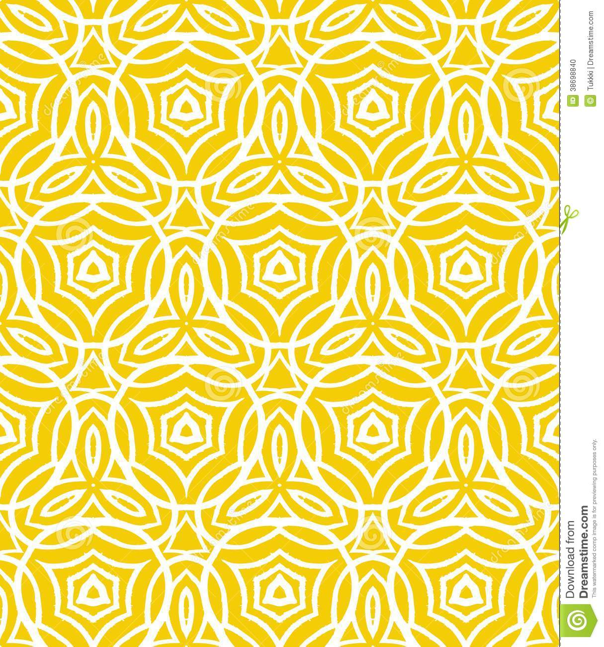 Cute Drawing Wallpaper Download Vintage Art Deco Pattern With Curved Lines Stock Vector