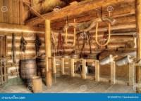 Vintage Barn Interior Stock Photo - Image: 52600176