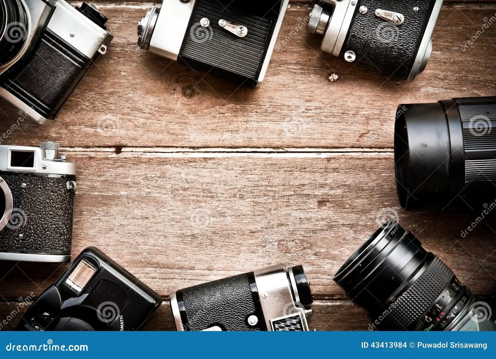 Vintage Camera Background Stock Photo  Image 43413984