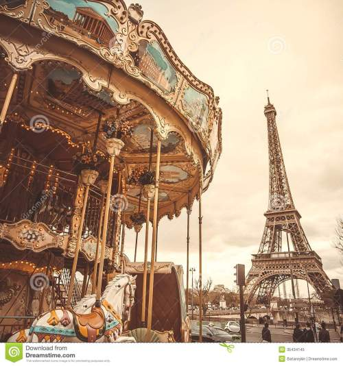 small resolution of vintage carousel in paris
