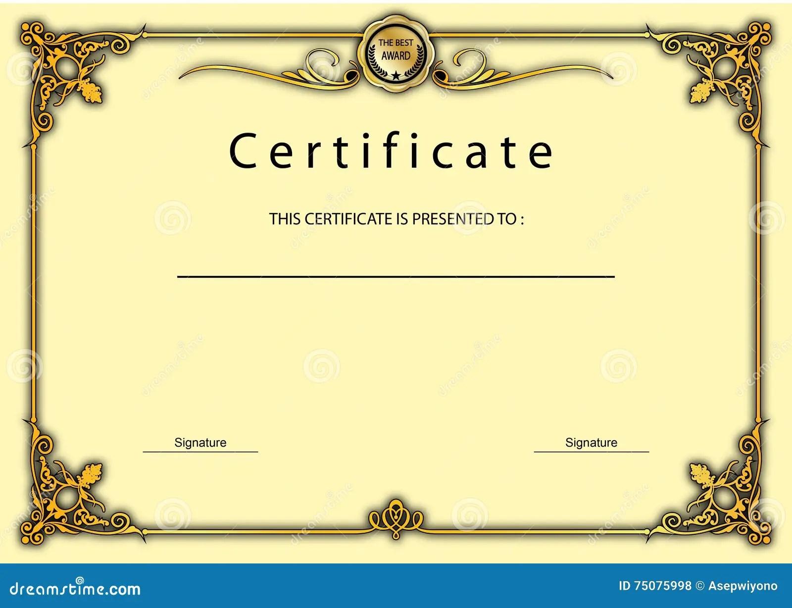 Certificate Of Appreciation Border Design Choice Image
