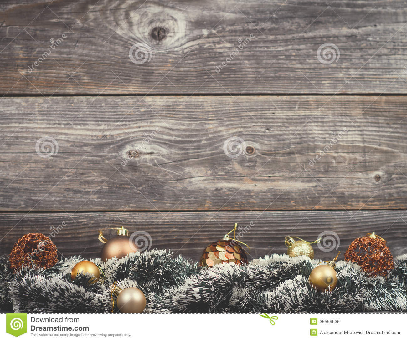 Vintage Christmas Background Royalty Free Stock Image