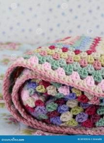 Vintage Crochet Stock Of Homemade Pretty