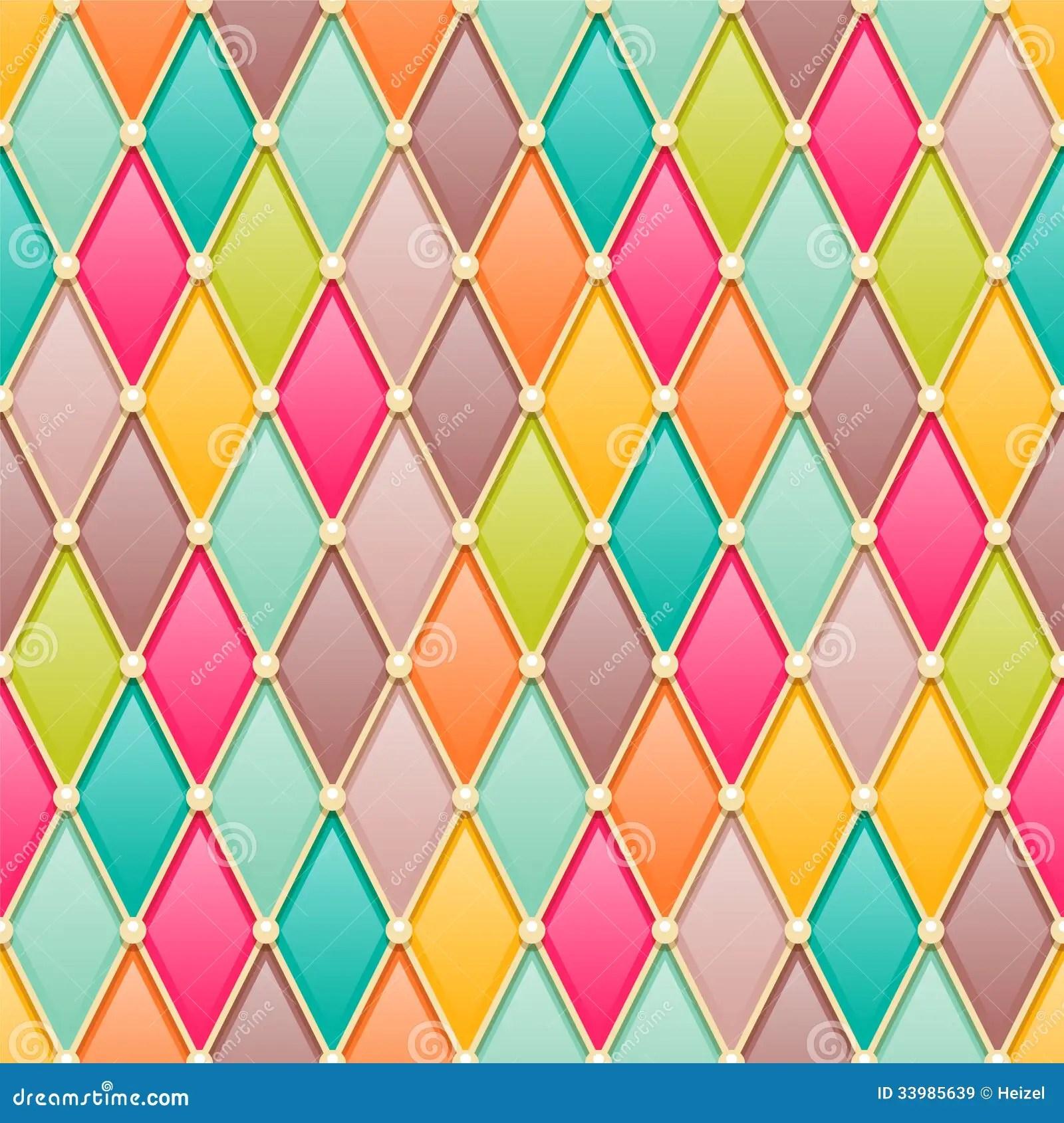 Vintage Diamonds Pattern Stock Vector Image Of Geometric