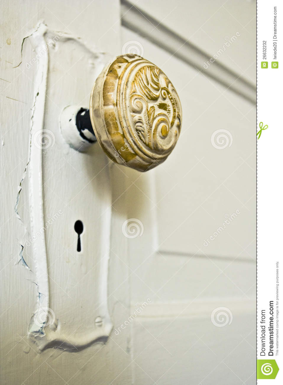 Vintage Door Knob Stock Photography  Image 26632232