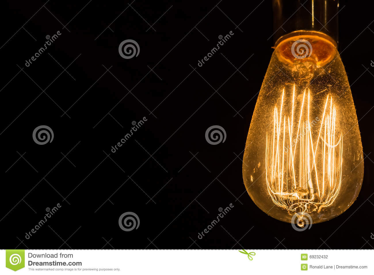 Yellow Incandescent Light Bulbs