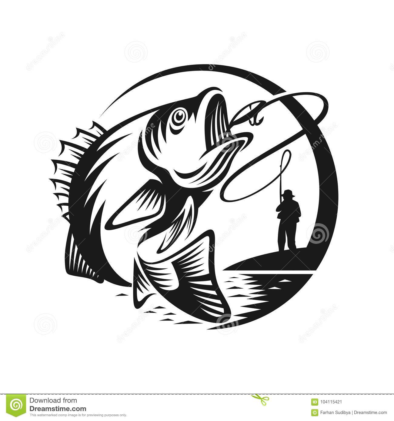 Fishing Cartoons Illustrations Amp Vector Stock Images