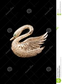 Gold Swan Lamp On The Roof Royalty-Free Stock Photography ...