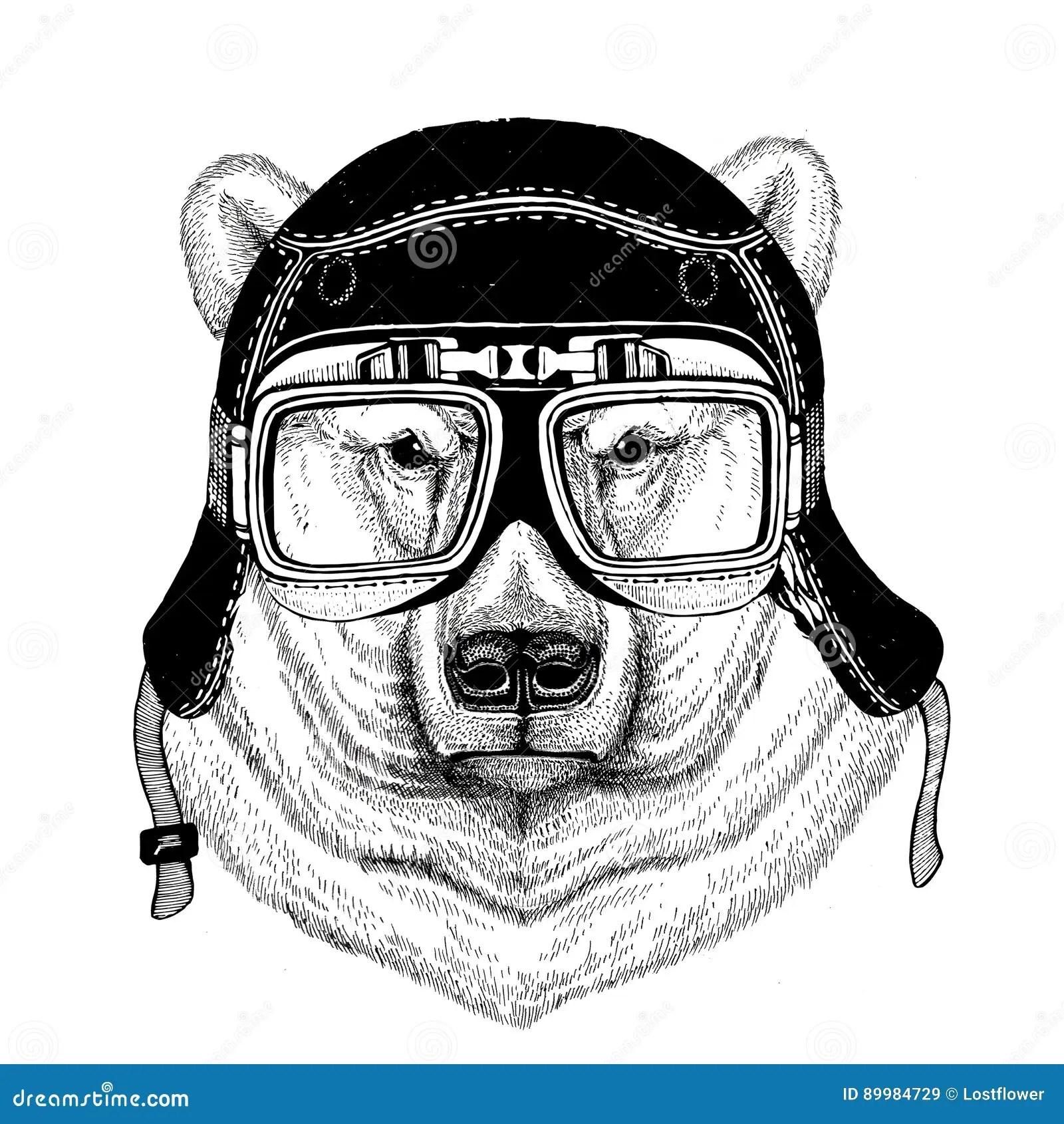 Vintage Images Of Dog For T Shirt Design For Motorcycle