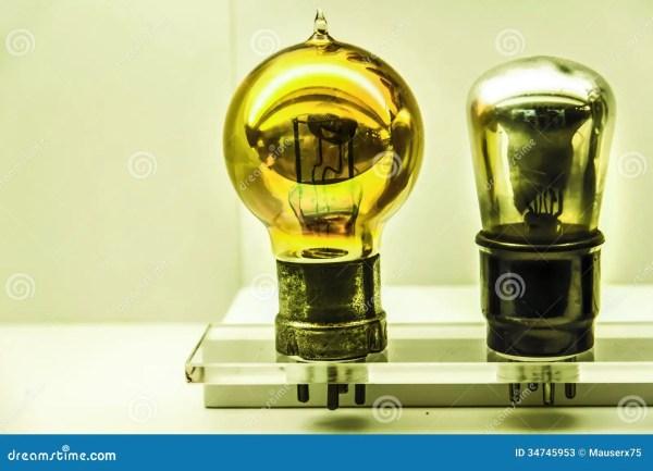 Vintage Light Bulbs Stock Photos Image 34745953