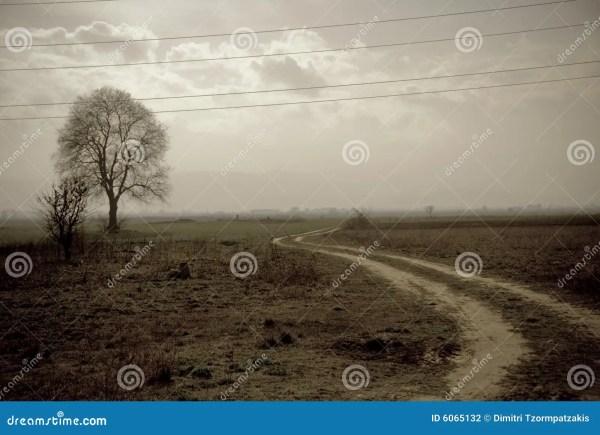 Vintage Landscape Stock - 6065132