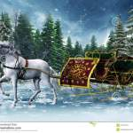 Horse Sleigh Stock Illustrations 323 Horse Sleigh Stock Illustrations Vectors Clipart Dreamstime