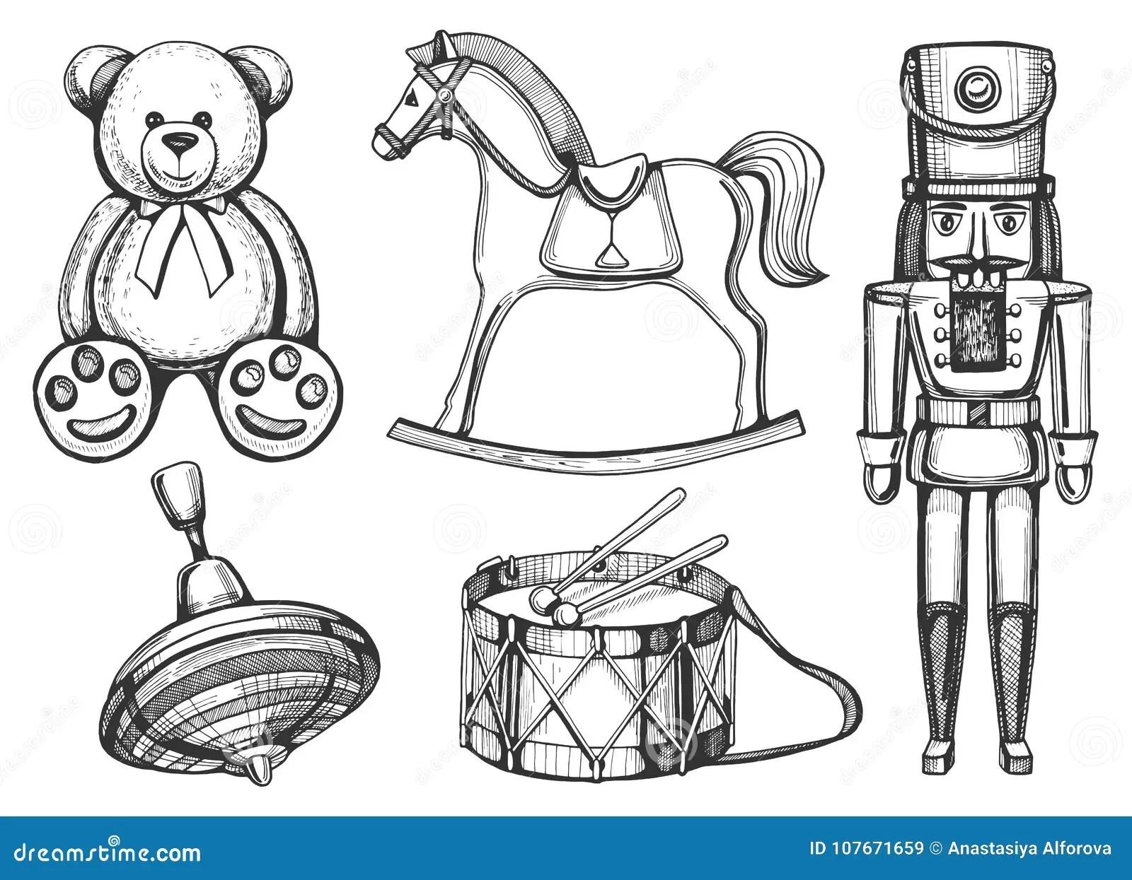 Rocking Horse Icon Cartoon Style Cartoon Vector