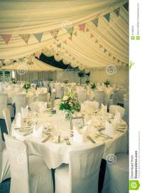 Vintage Wedding Table Setting Stock Photo - Image: 47329510