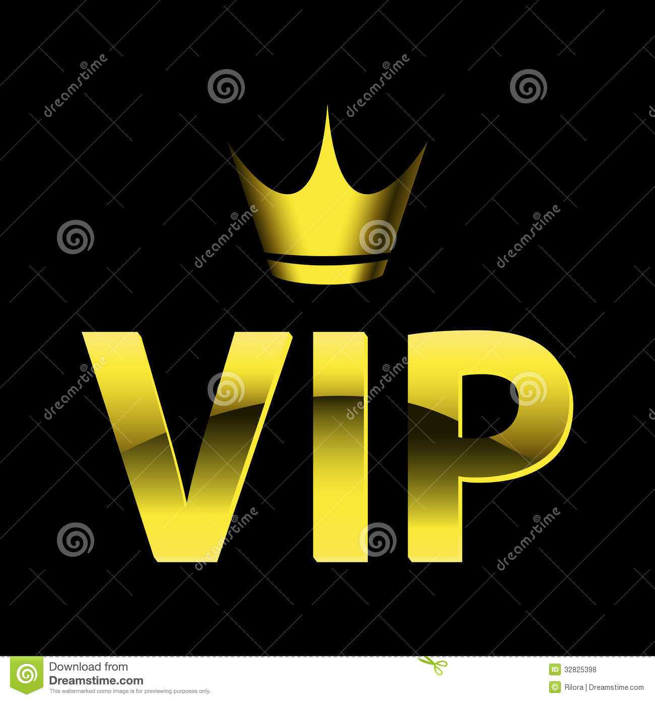Vip Design Royalty Free Stock Photos