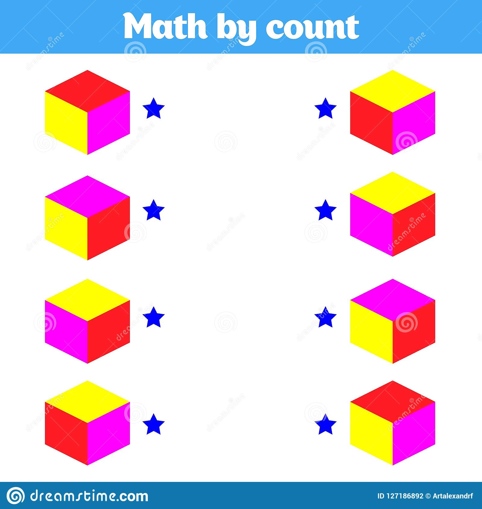 Visual Educational Game For Children Worksheet For