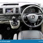 Volkswagen Transporter T6 2018 Interior Editorial Stock Photo Image Of Auto Hybrid 129995403