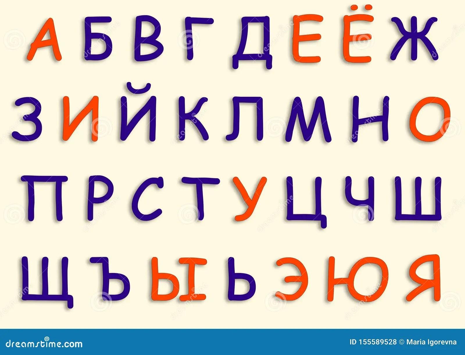 Consonants Letters