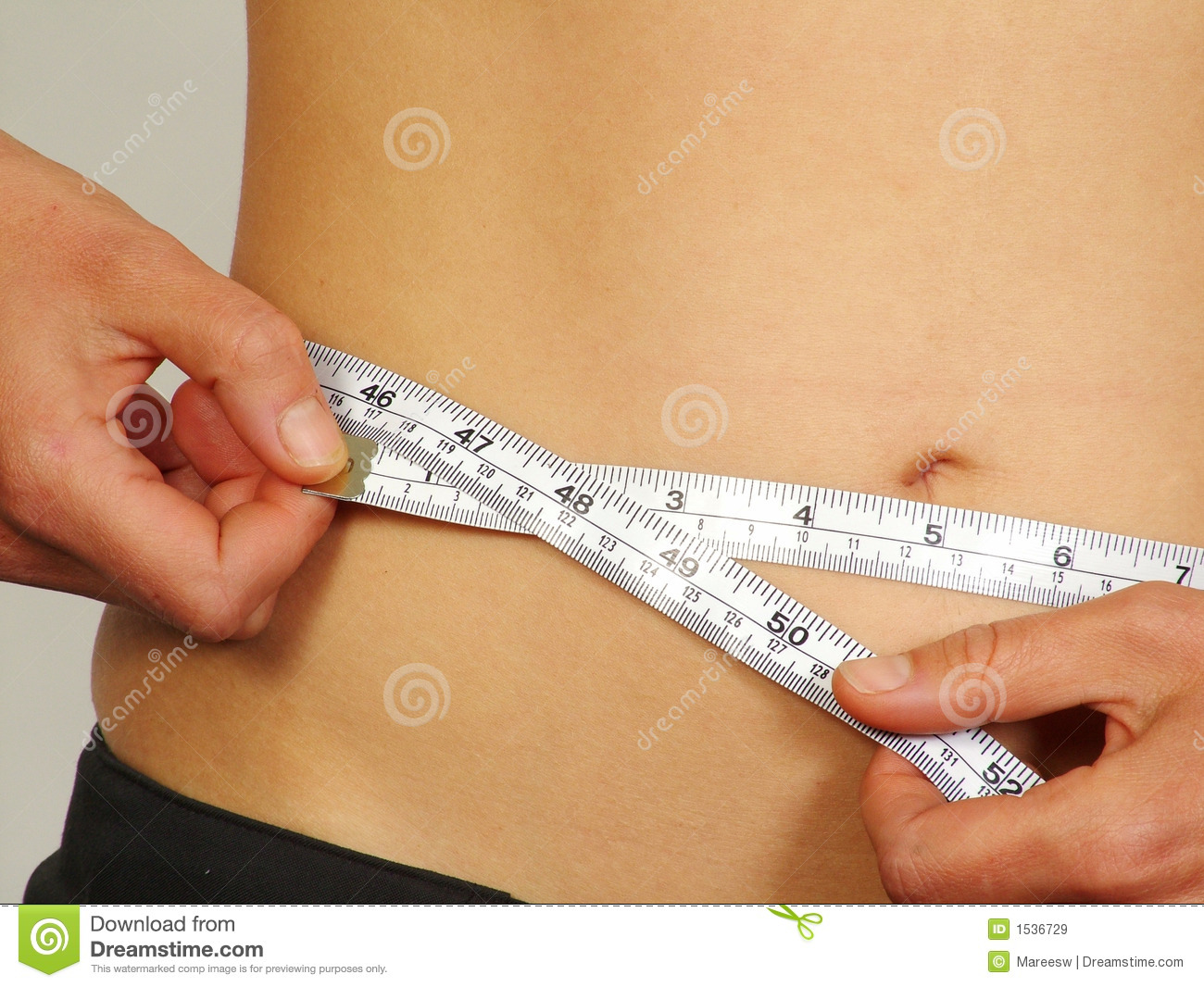 weight loss body measurement