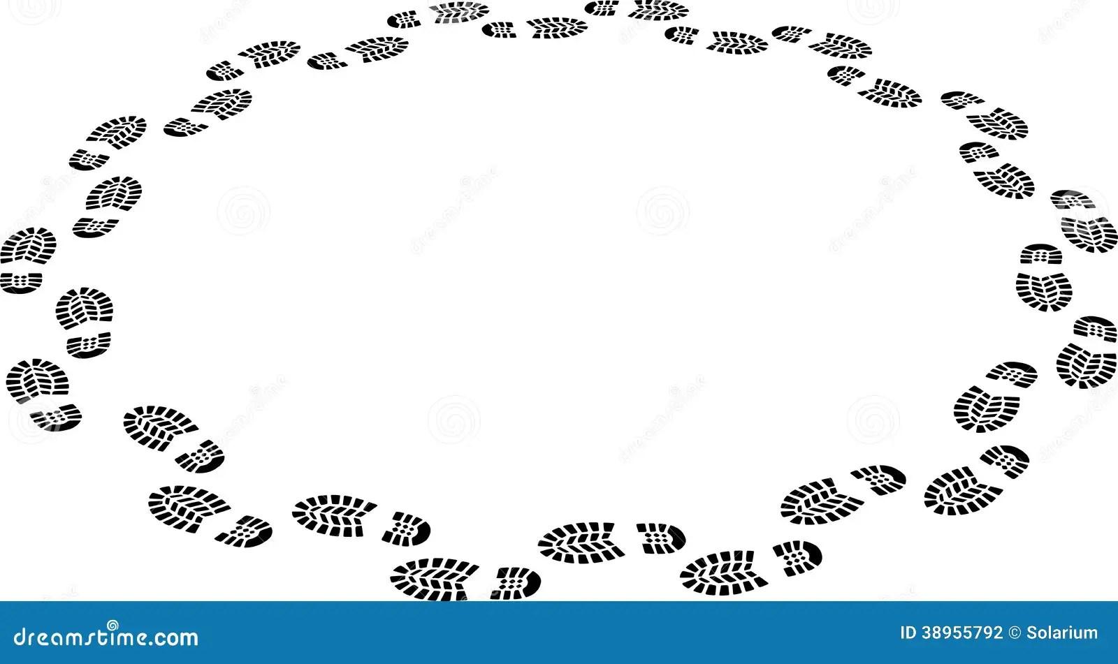 Walk Around Stock Vector Illustration Of Tracking