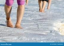 Walking Barefoot in Water