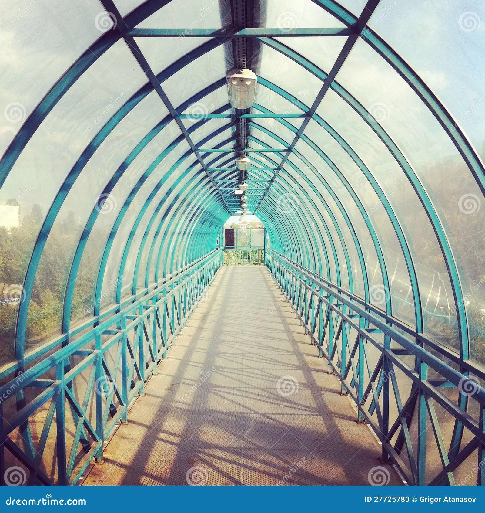 Walkway Tunnel Stock Photo  Image 27725780