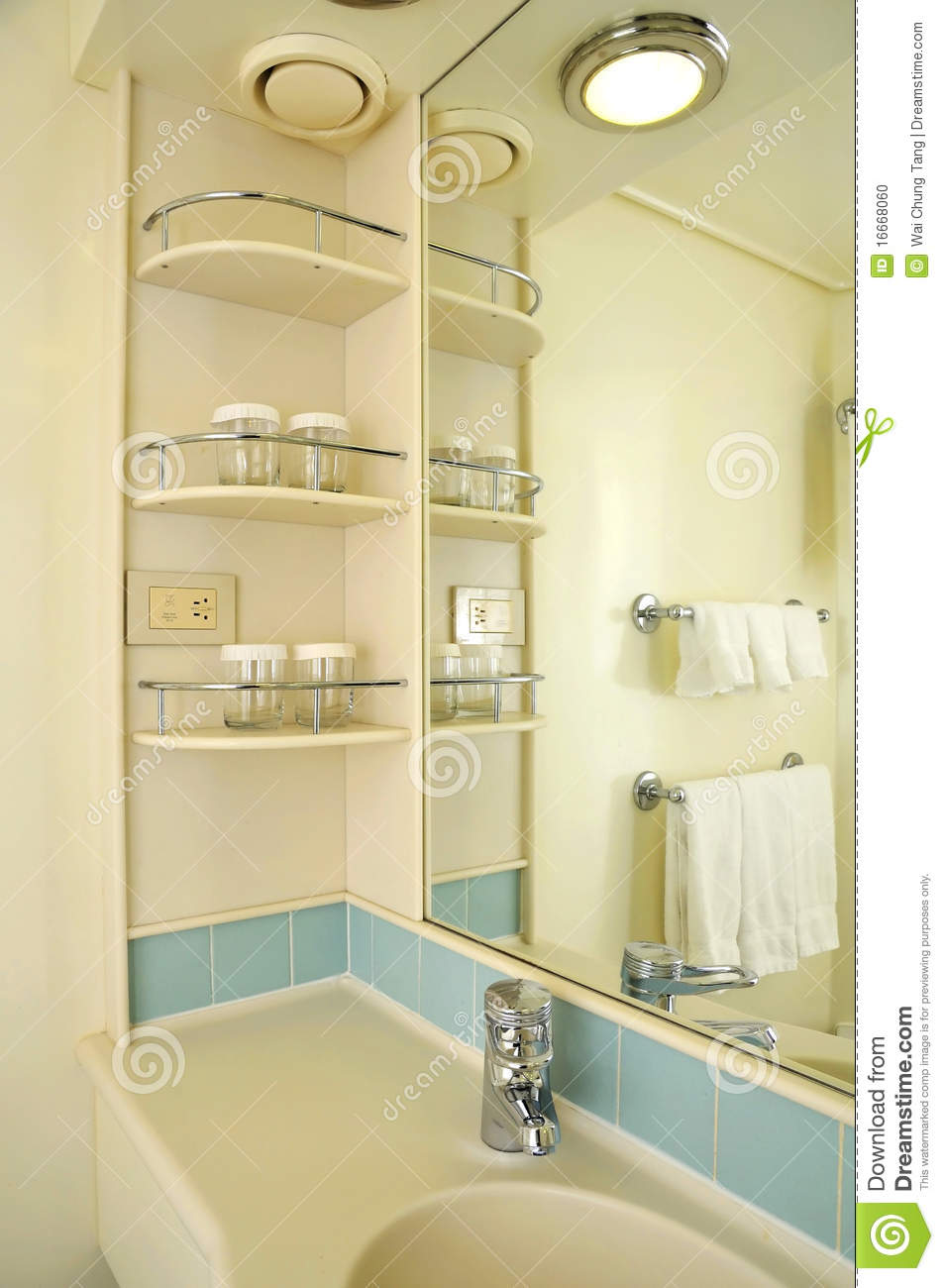 Wash basin and mirror stock photo Image of shelf water