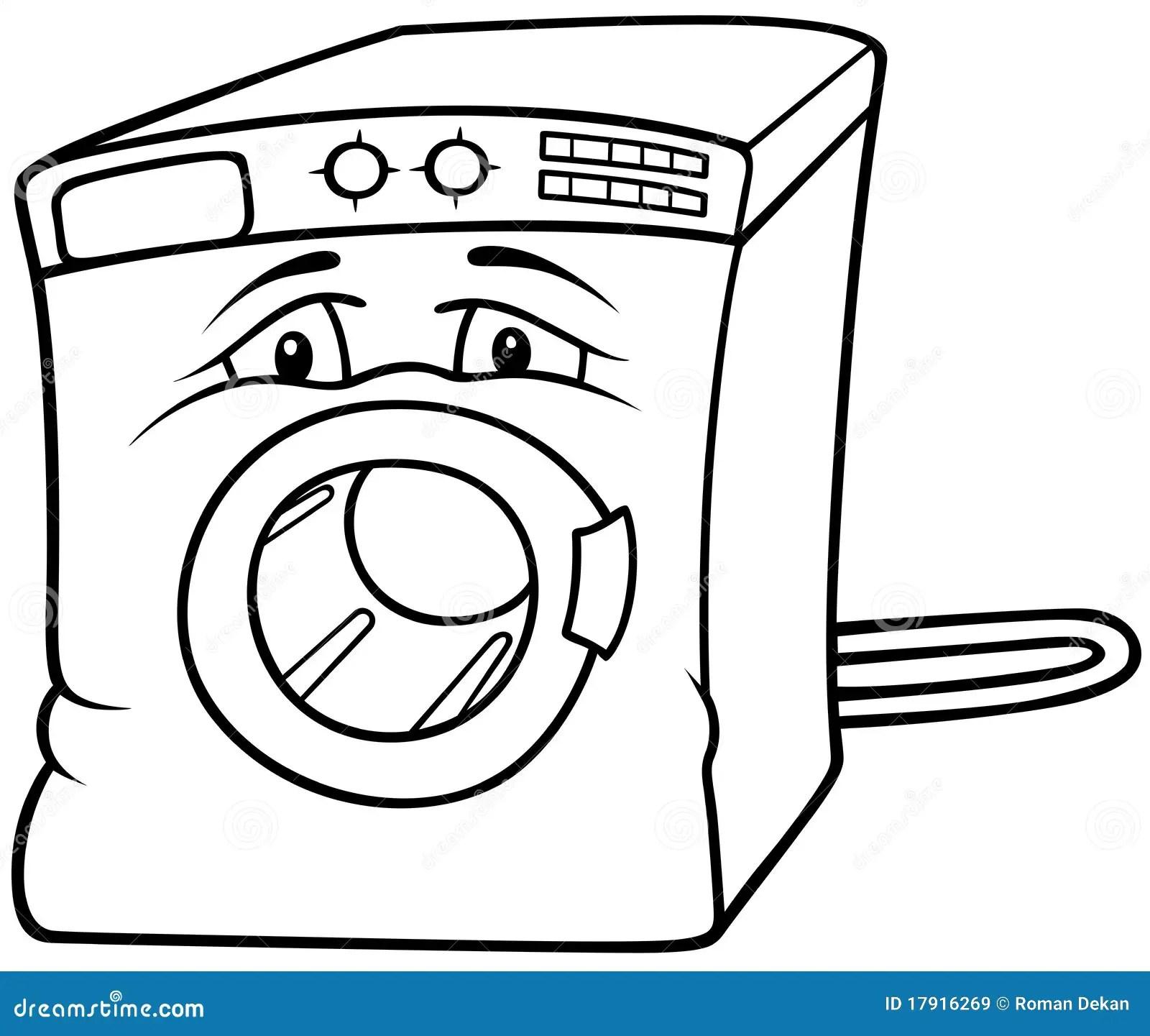 Washing Machine stock vector. Illustration of electronic