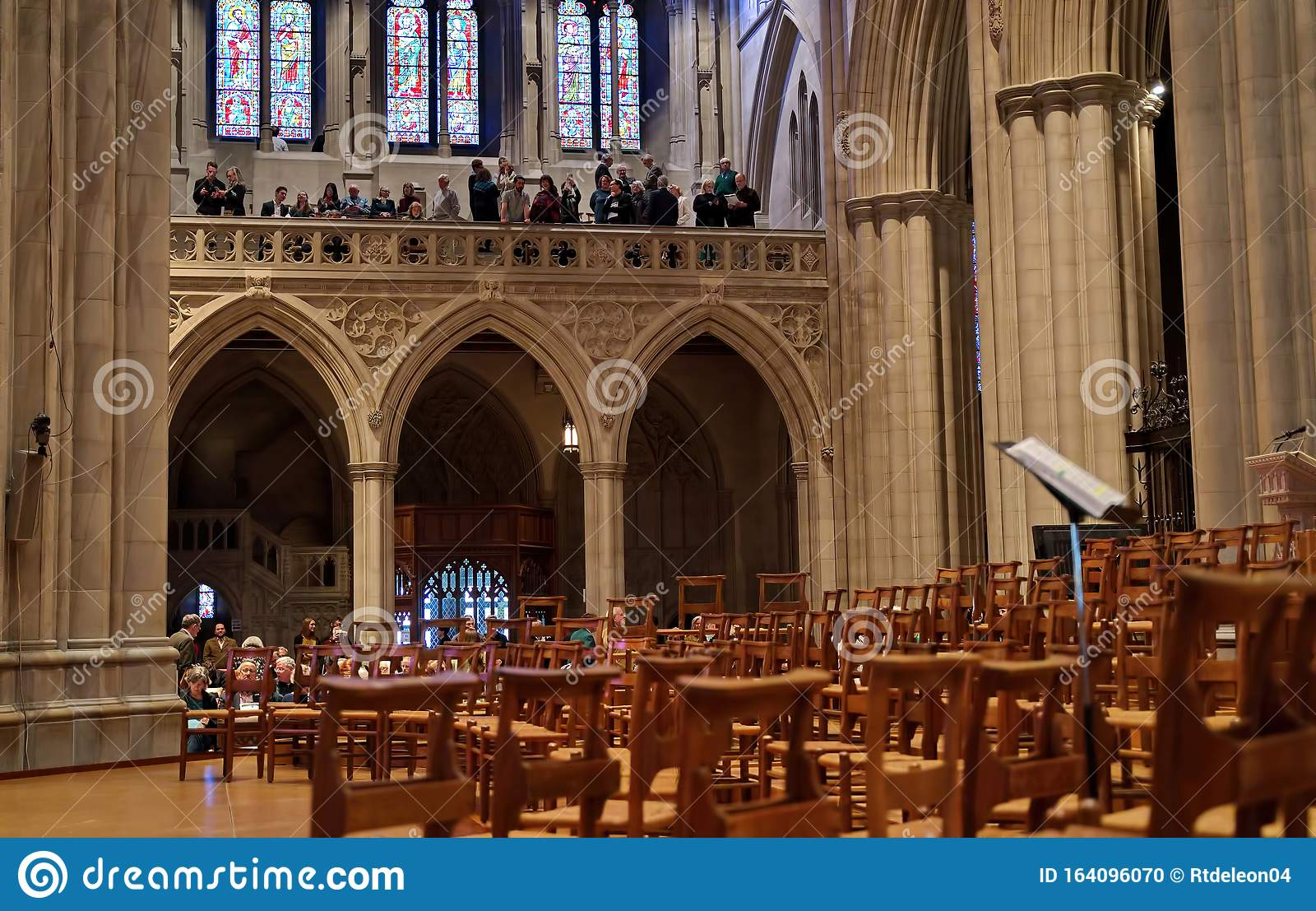 Washington National Cathedral In Dc Editorial Image