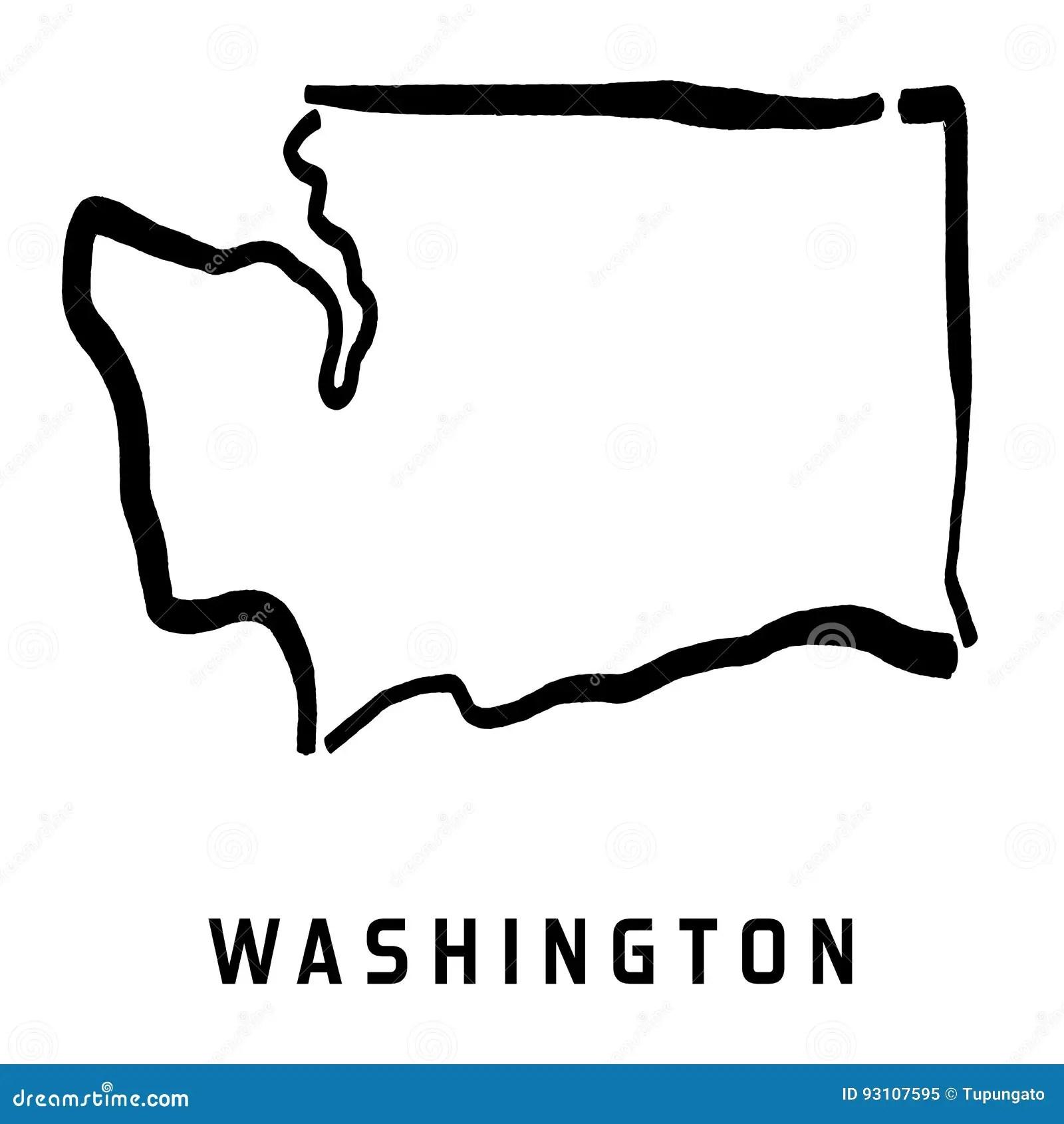Washington Stock Vector Illustration Of Concept Drawing