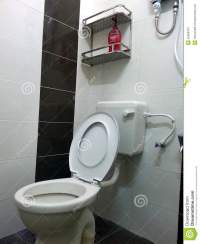 Interior Of Washroom, Wc, Toilette, Bathroom, Lavatory ...
