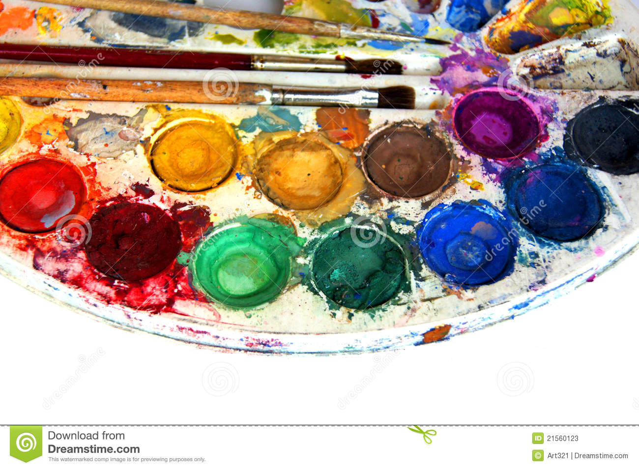 water color paint box