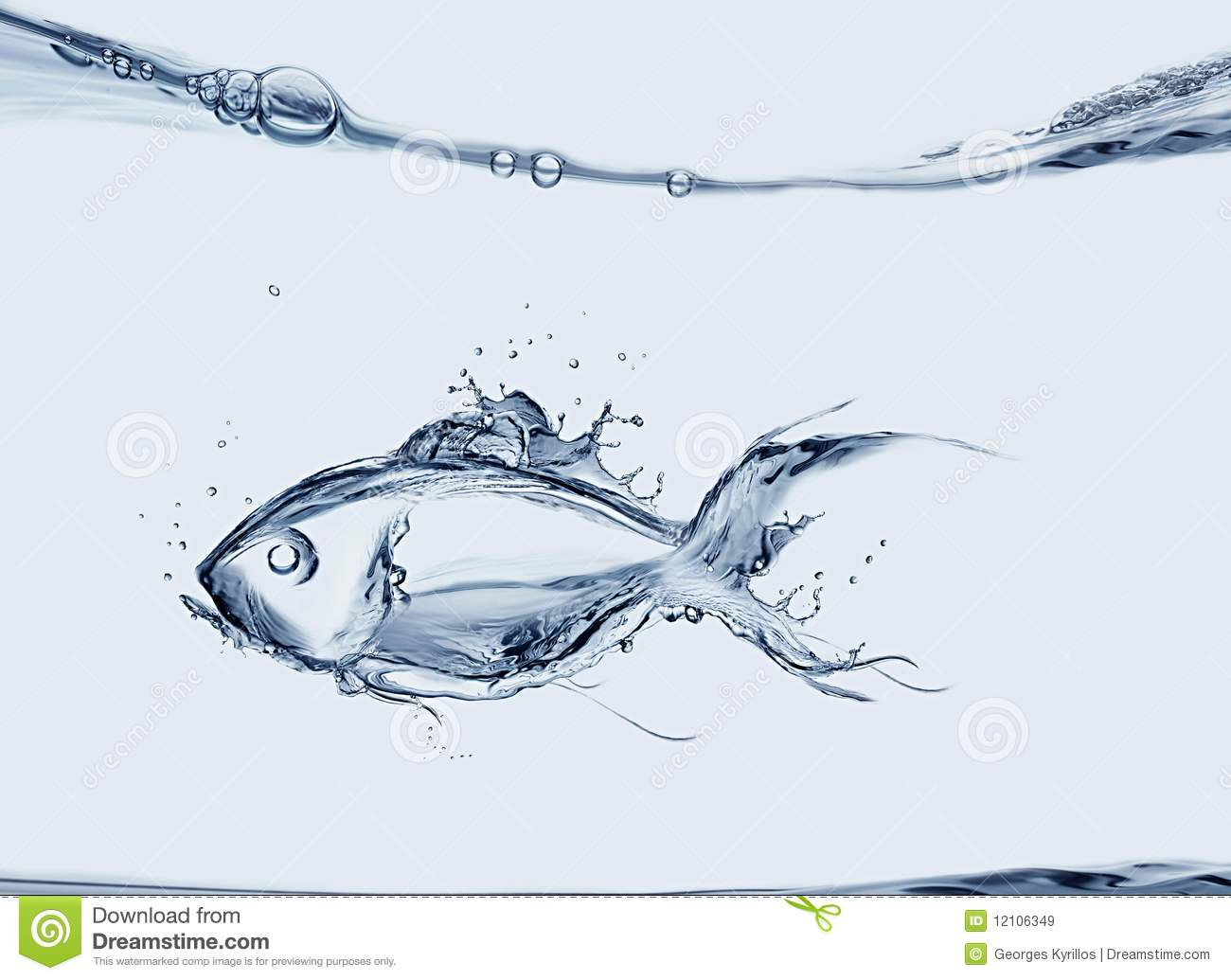 water fish stock image