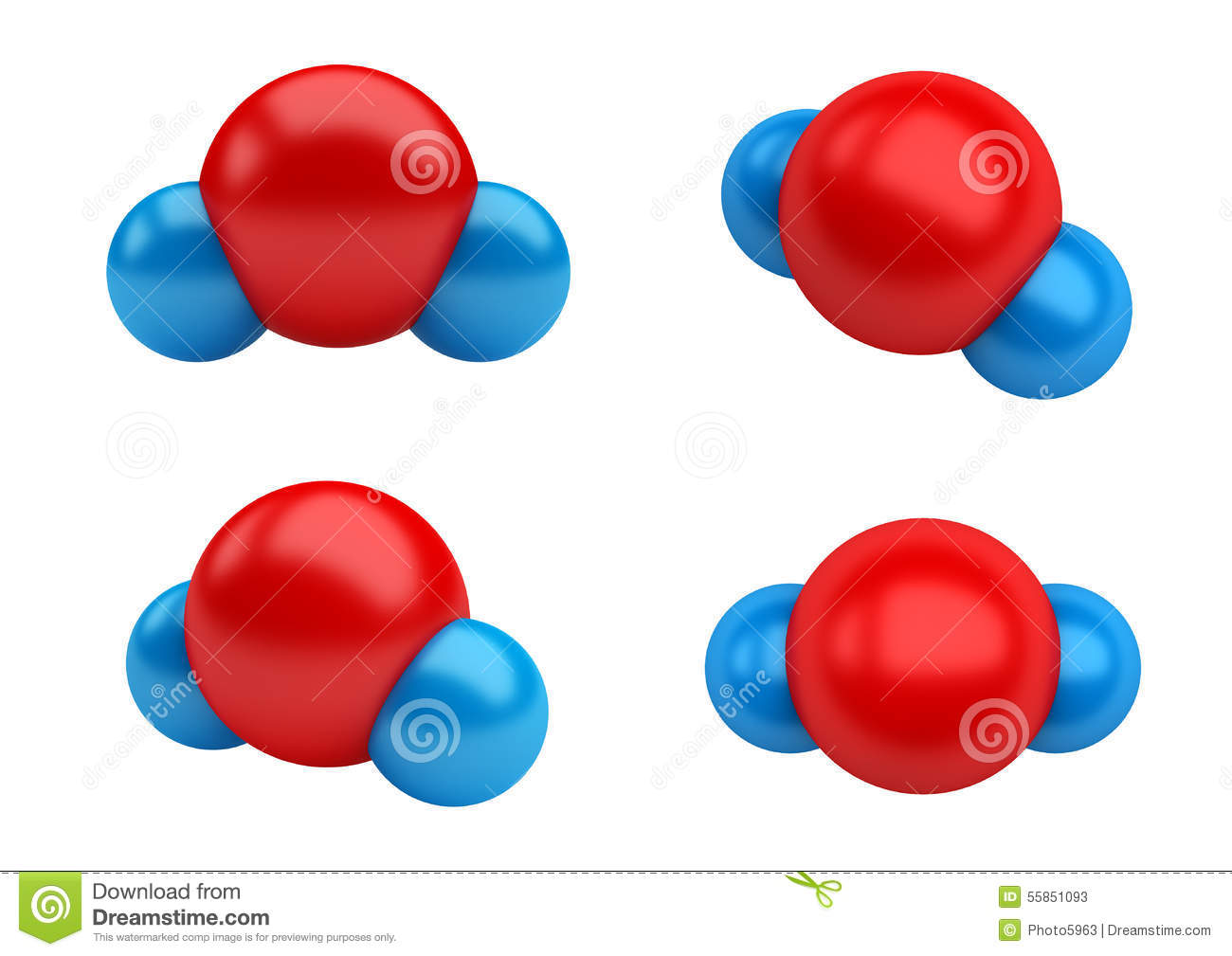 water molecule diagram 3 wire molecules h2o stock illustration of